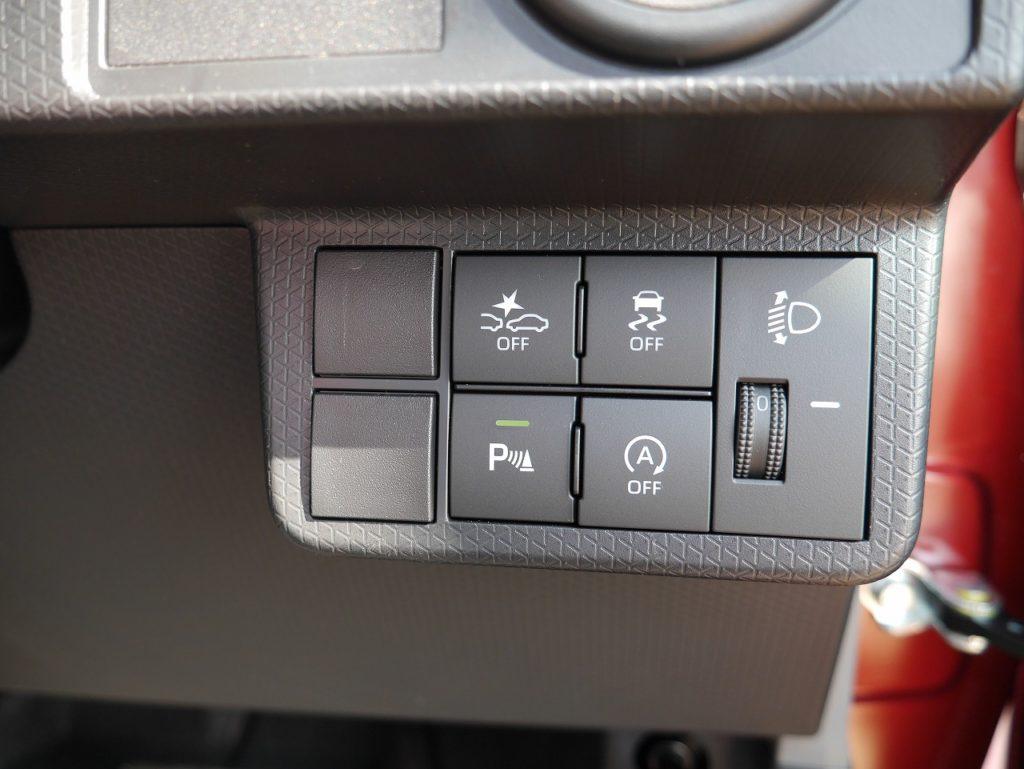 ■衝突被害軽減ブレーキ/横滑り防止装置/リアパーキングセンサー/アイドリングストップ