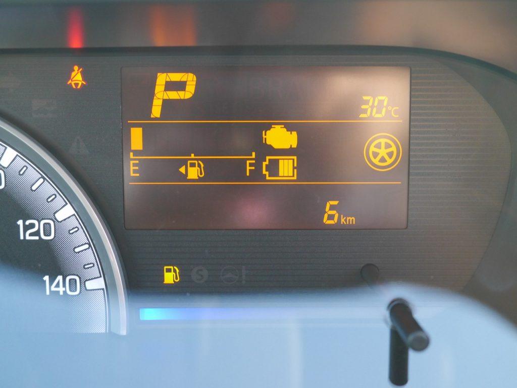 ■走行距離は撮影時点で6km!ほとんど走っていない届出済未使用車のおクルマです♪