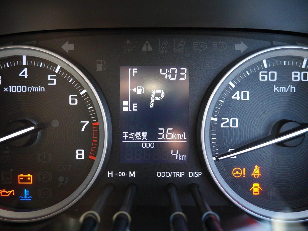 ■走行距離は撮影時点で4km! ほとんど走っていない届出済未使用車のおクルマです♪