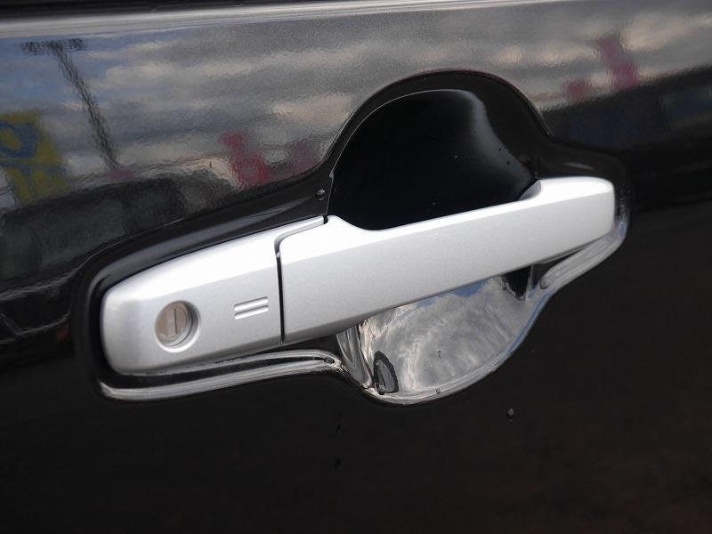 ■スマートキーを持っていればハンドル部のセンサーを触るだけで施錠&開錠♪