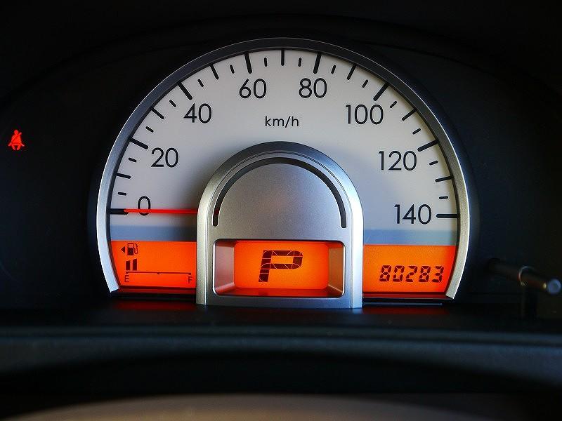 ■走行距離は撮影時点で80,300kmのおクルマです