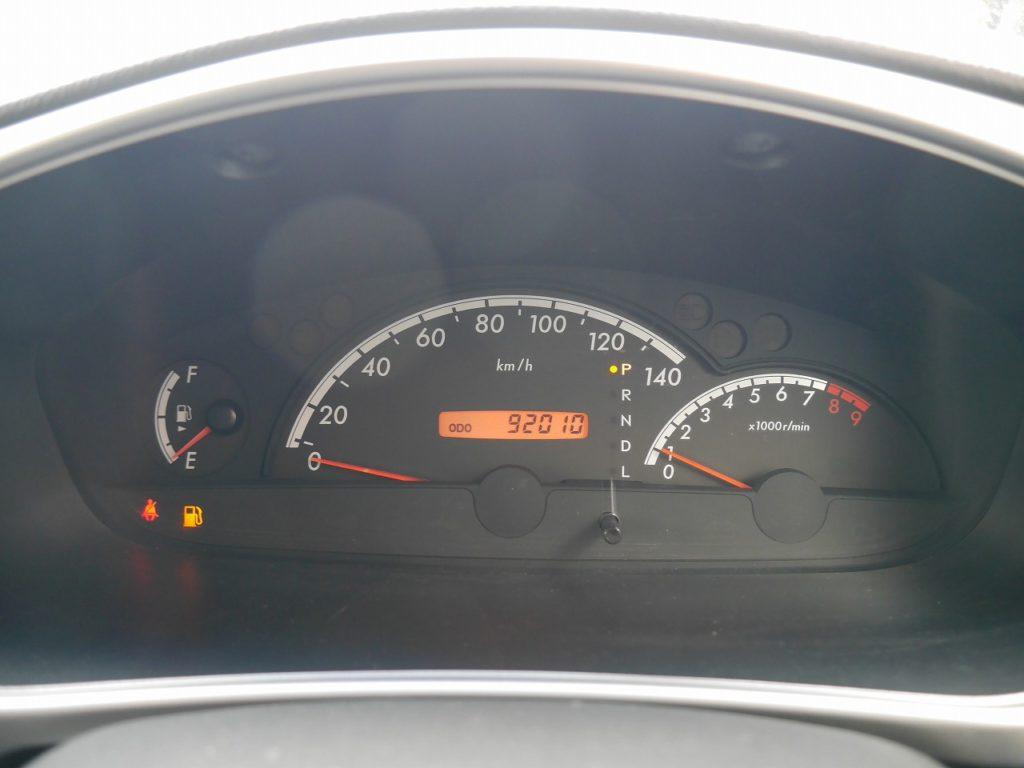 ■走行距離は撮影時点で92,010kmのおクルマです