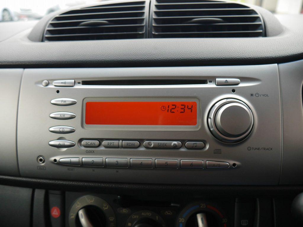 ■純正CDオーディオ装備