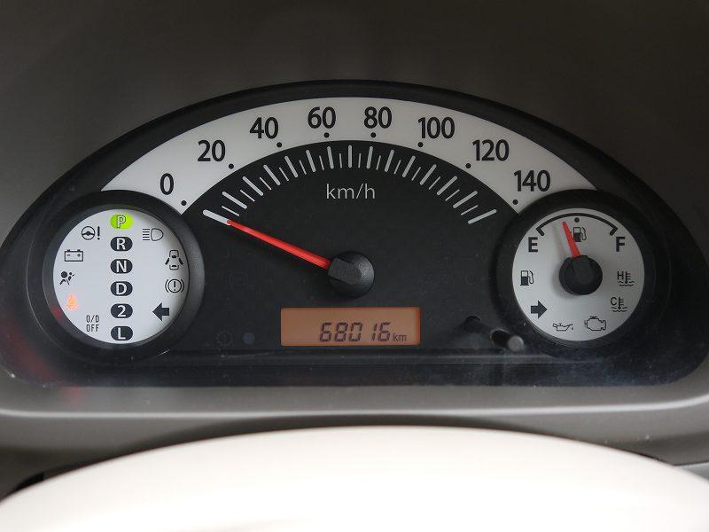 ■走行距離は撮影時点で68,016kmのおクルマです