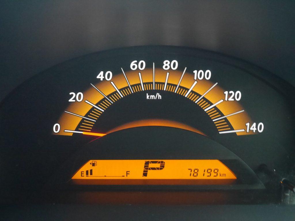 ■走行距離は撮影時点で78,199kmのおクルマです