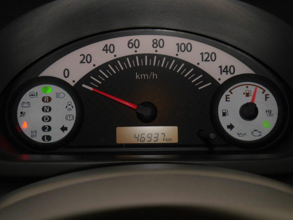 ■走行キョリ約46950km
