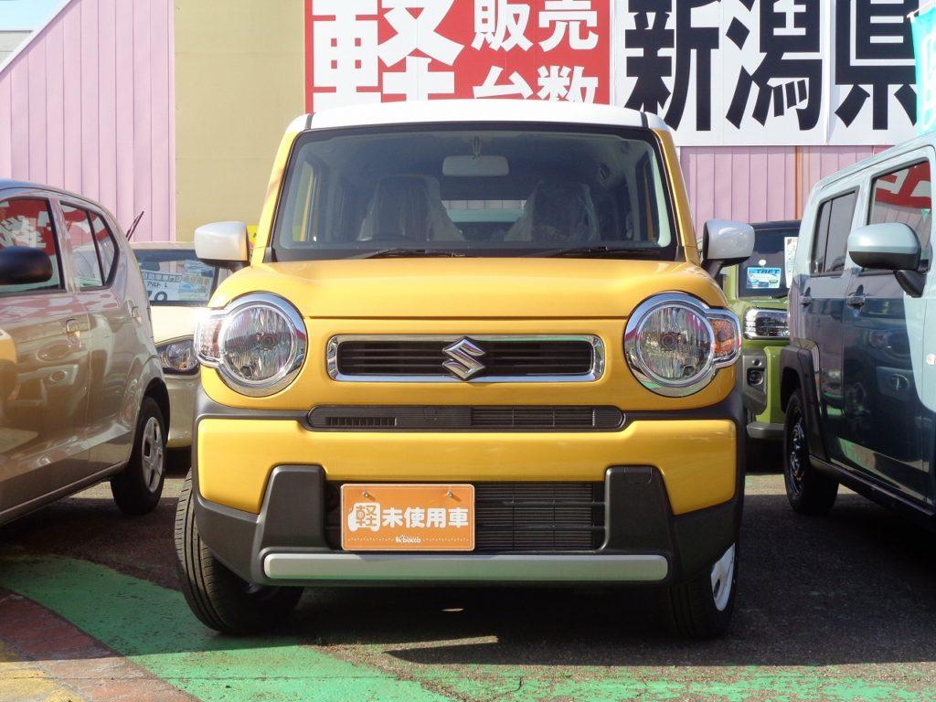 ■車体色:アクティブイエロー/ホワイト2トーンルーフ