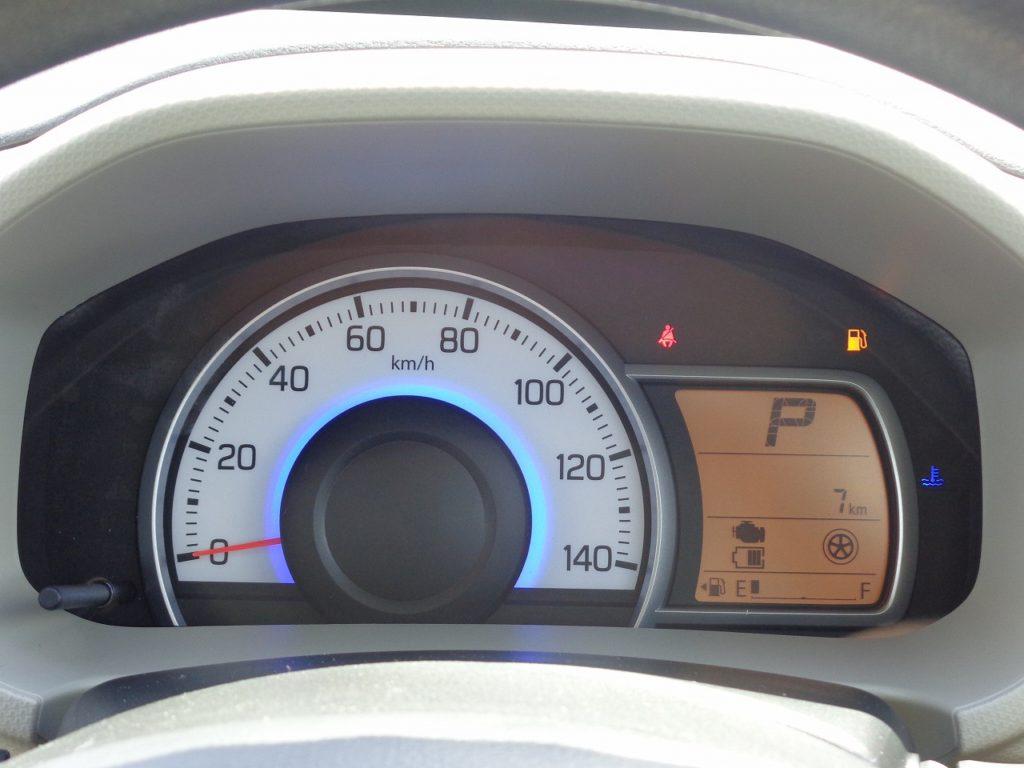 ■走行距離は撮影時点で7km! ほとんど走っていない届出済未使用車のおクルマです♪