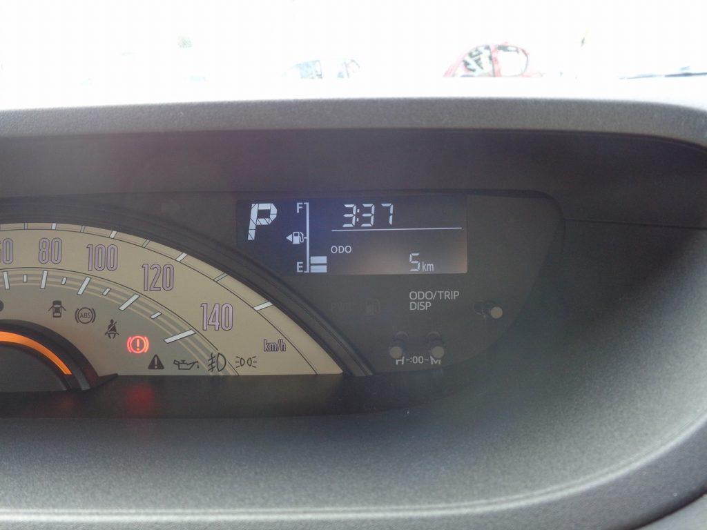 ■走行距離は撮影時点で5km! ほとんど走っていない届出済未使用車のおクルマです♪